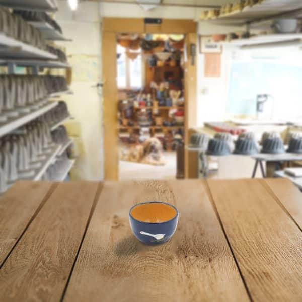 bol en terre cuite poterie friedmann, savoir faire artisanal et familial
