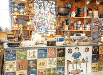 boutique de la poterie Friedmann à Soufflenheim