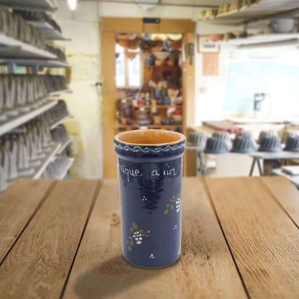 brique à vin en terre cuite poterie friedmann, savoir faire artisanal et alsacien