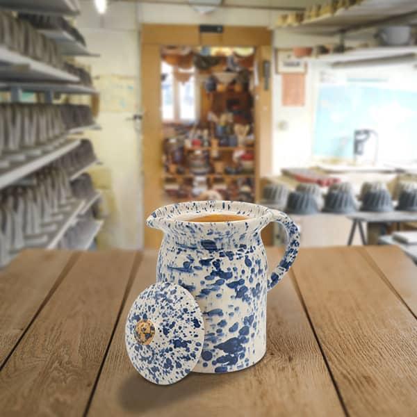 crinoline en terre cuite poterie friedmann, savoir faire familial et alsacien