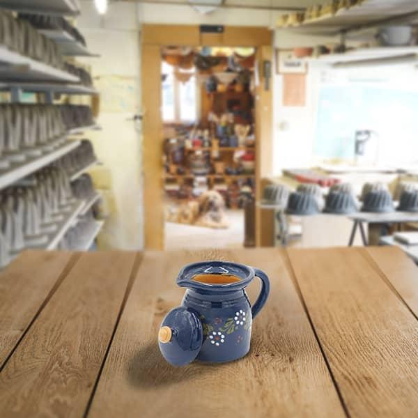 crinoline en terre cuite poterie friedmann, savoir faire familial