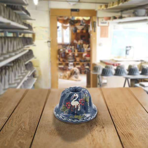 moule à kougelhopf, kouglopf, kouglof décoré en terre cuite poterie friedmann, savoir faire familial