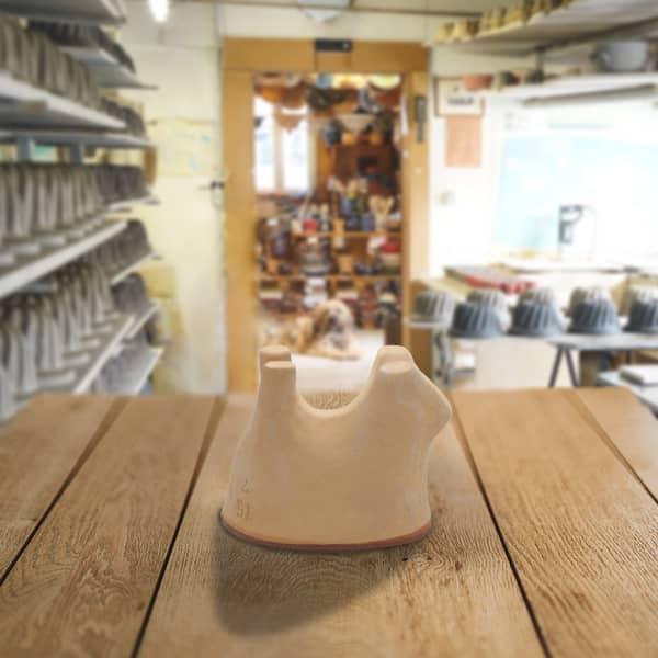 forme mouton en terre cuite, moule lammele, lammela, agneau pascal poterie friedmann, savoir faire artisanal et familial