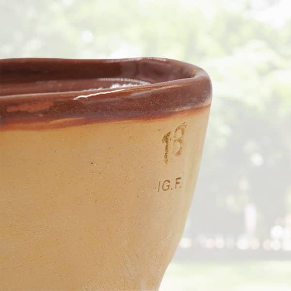 forme mouton en terre cuite moule lammele, lammela, agneau pascal poterie friedmann, famille de potiers depuis 1802 à Soufflenheim en Alsace