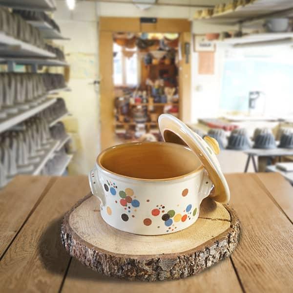 cocotte à pain en terre cuite poterie friedmann, famille de potiers depuis 1802 à Soufflenheim, Alsace