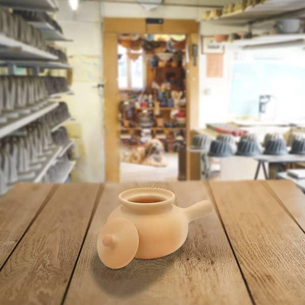 diable kartoffeltopf en terre cuite poterie friedmann, fabrication artisanale et familiale
