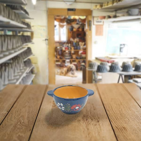 ecuelle en terre cuite poterie friedmann, fabrication artisanale