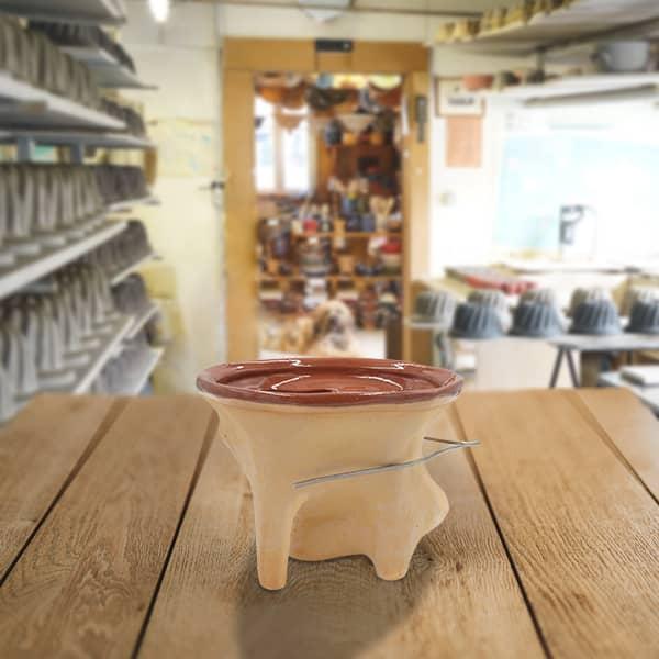 forme lapin en terre cuite poterie friedmann, fabrication artisanale à Soufflenheim en Alsace