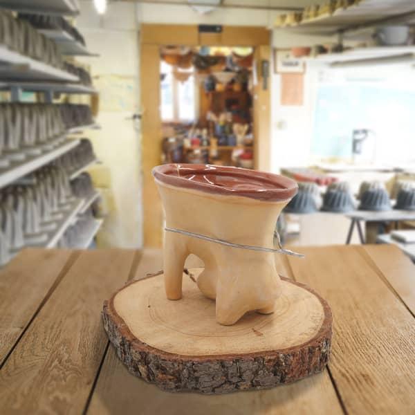 forme lapin en terre cuite poterie friedmann, savoir faire familial