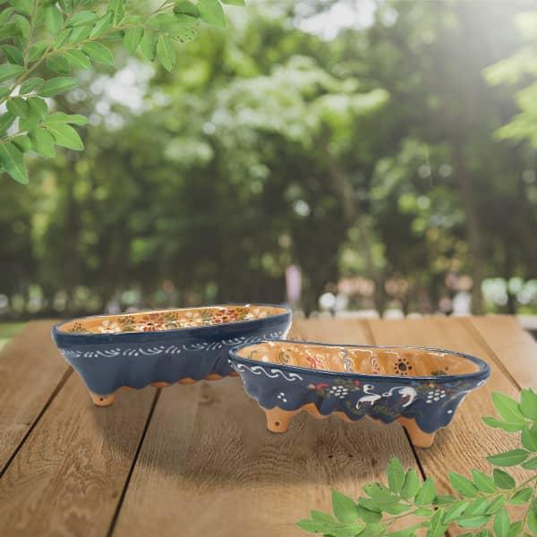 lot moules à cake décorés en terre cuite poterie friedmann moule à langhopf, fabrication artisanale à Soufflenheim, Alsace