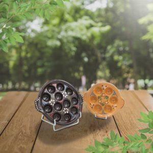 lot plats escargot en terre cuite poterie friedmann, fabriqués à partir de la terre naturelle de Soufflenheim en Alsace