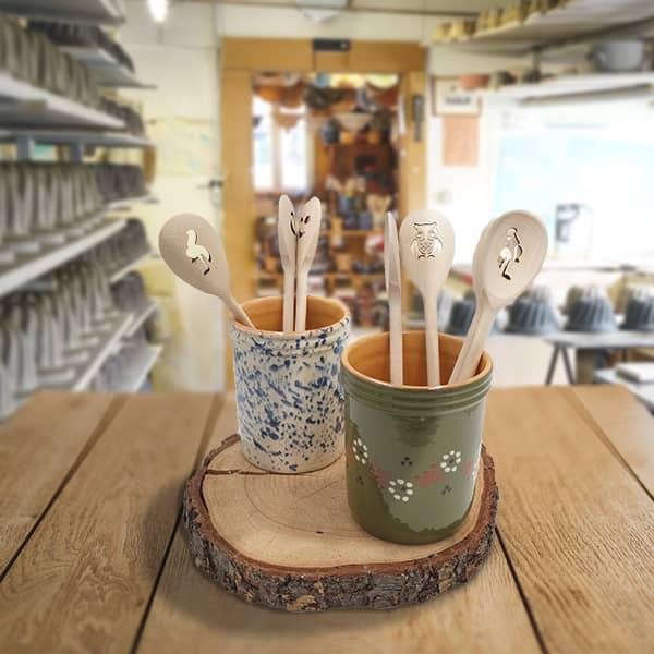 lot portes couverts poterie friedmann, famille de potiers depuis 1802 à Soufflenheim en Alsace