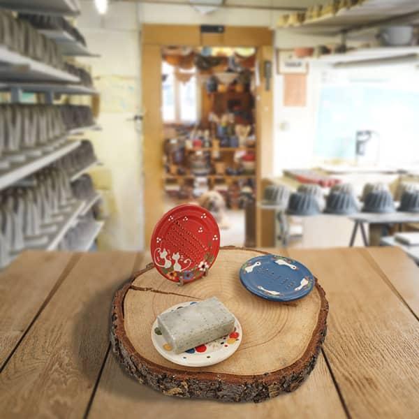 lot portes savons poterie friedmann savoir faire artisanal