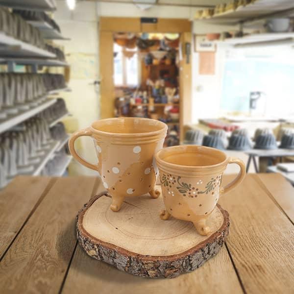 lot pots à fromage faisselle poterie friedmann terre cuite naturelle Soufflenheim Alsace