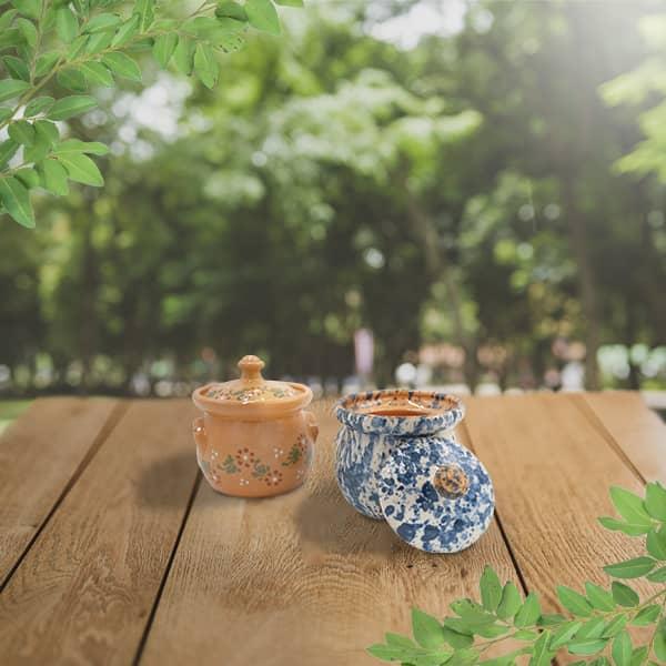 lot sucriers poterie friedmann terre naturelle de soufflenheim