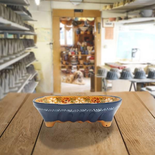 moule à cake décoré moule à langhopf en terre cuite poterie friedmann, fabriqué à partir de la terre naturelle de soufflenheim, Alsace