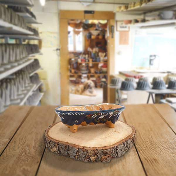 moule à cake décoré moule à langhopf en terre cuite poterie friedmann, fabrication artisanale à Soufflenheim