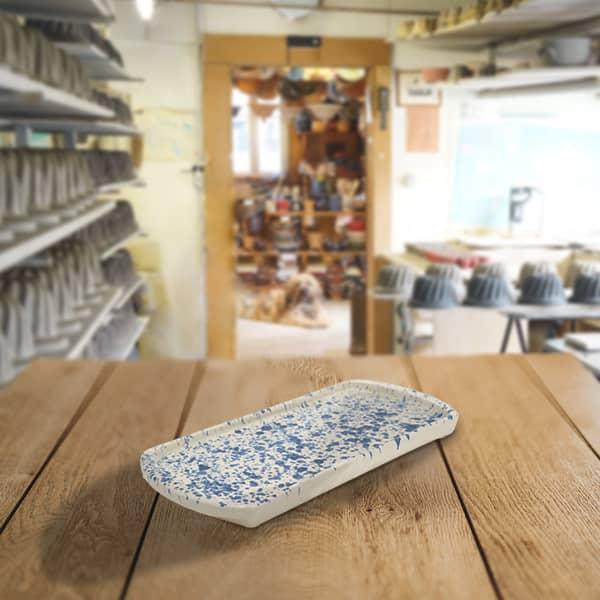 plat à cake en terre cuite poterie friedmann, famille de potiers depuis 1802 à Soufflenheim en Alsace