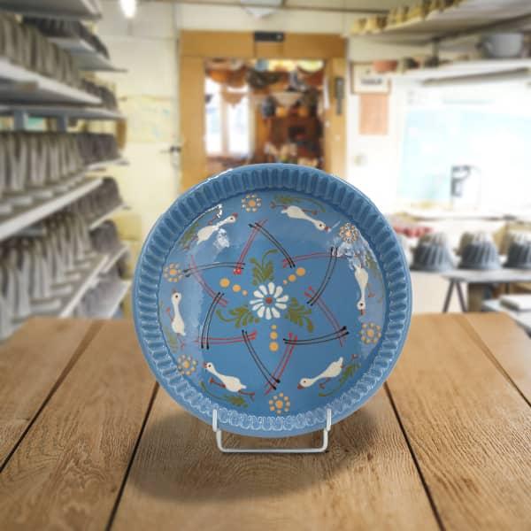 plat moule à tarte poterie friedmann savoir faire artisanal